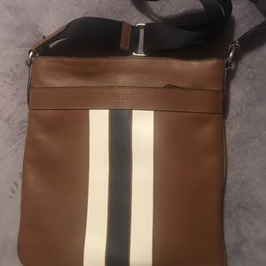 Authentic Coach messenger crossbody bag